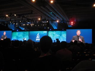 Lary Ellison at Javaone